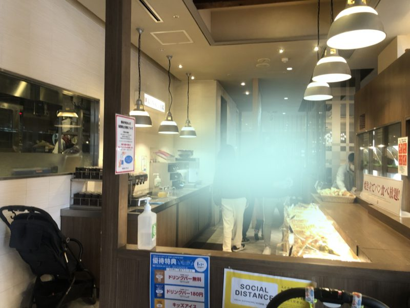 バケットららぽーと船橋店の店の入口