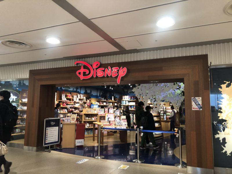 ディズニーストアソラマチ店の入口