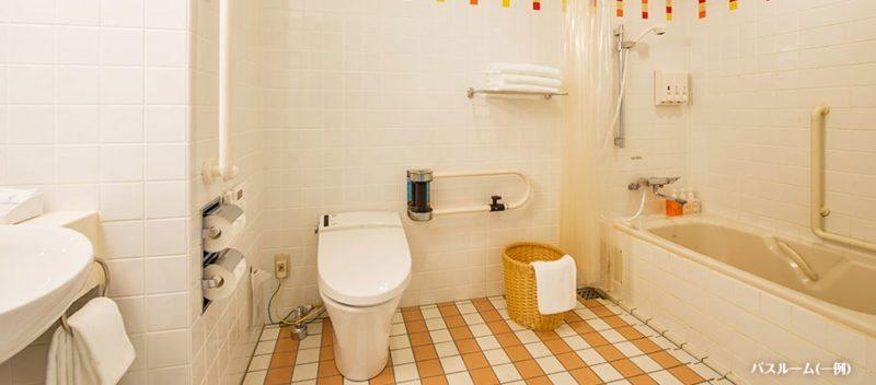 ディスカバー アクセシブルルームの洗面所・トイレ・バスルーム