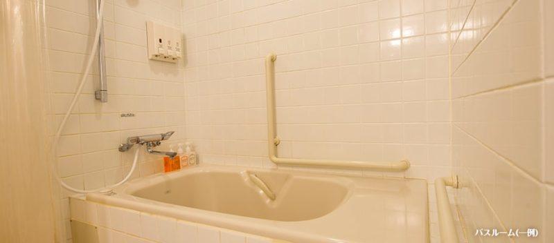 ディスカバー アクセシブルルームの浴槽