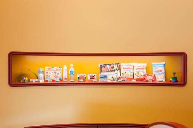 ディズニーランドのベビーセンター内で販売している商品