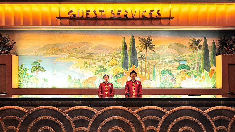 ディズニーアンバサダーホテル ゲストサービスカウンター
