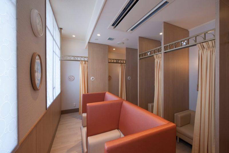 ディズニーランドのベビーセンターの授乳室