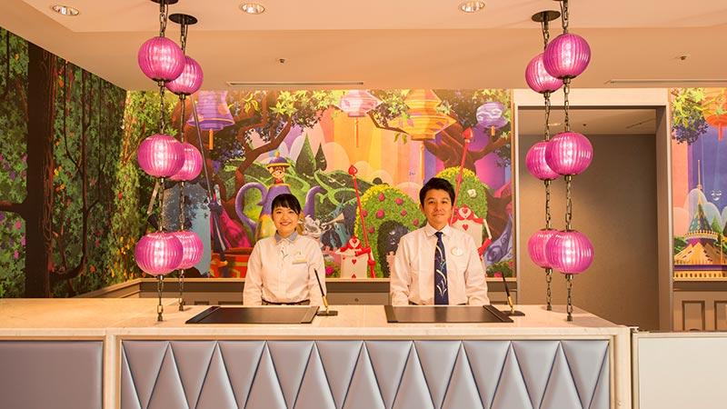 東京ディズニーセレブレーションホテルゲストサービスデスク