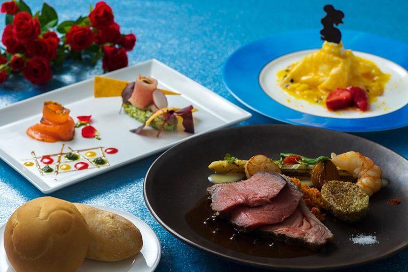 ブルーバイユー・レストランのコース料理