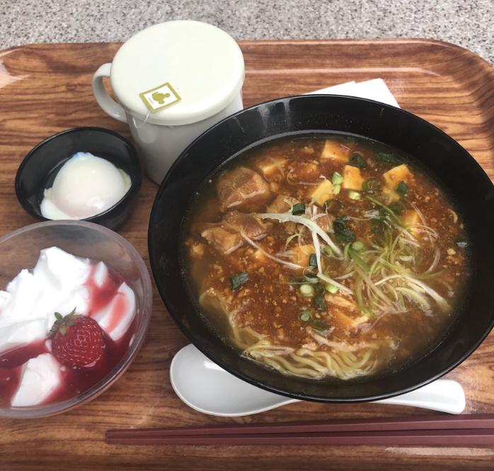 チャイナボイジャーの麻婆麺セット