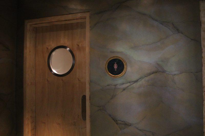 オチェーアノのトイレ